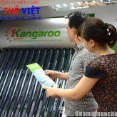 Hỗ trợ 1 triệu đồng khi mua máy nước nóng năng lượng mặt trời Kangaroo