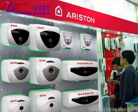 ARISTON ra mat san pham may nuoc nong moi nam 2013