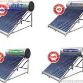 Sơn Hà giới thiệu máy nước nóng năng lượng mặt trời mới